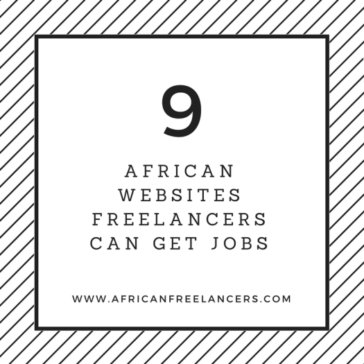 9 African Websites Freelancers can get Jobs