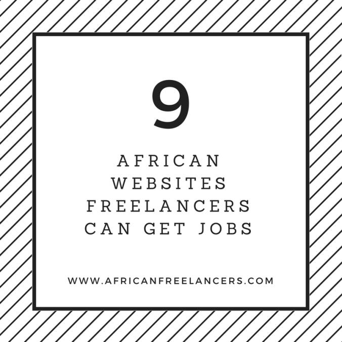 9 African Websites Freelancers can get Jobs