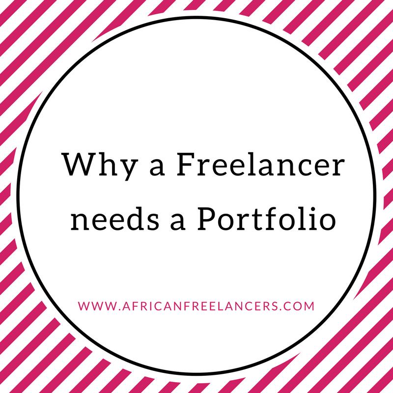 Why a Freelancer needs a Portfolio