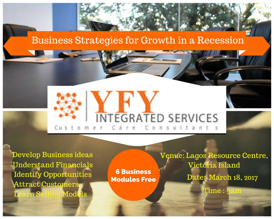 Event: Business Strategies for Growth in a Recession