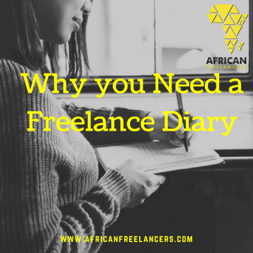 Why you Need a Freelance Diary